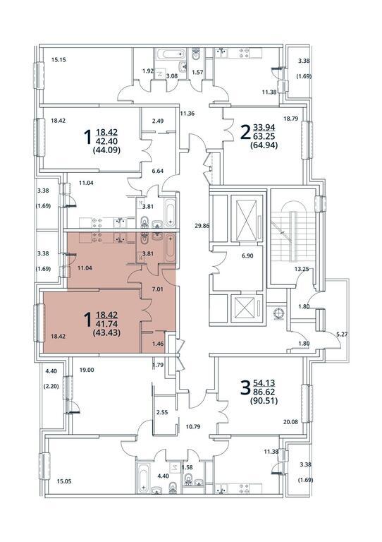 Москва, 1-но комнатная квартира, ул. Радиальная 6-я д.7, 4833759 руб.