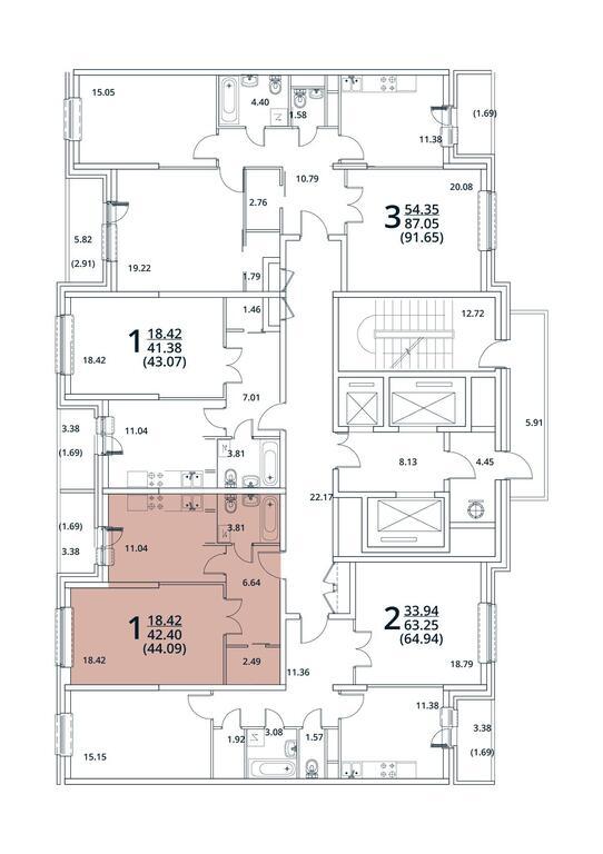 Москва, 1-но комнатная квартира, ул. Радиальная 6-я д.7, 4887376 руб.