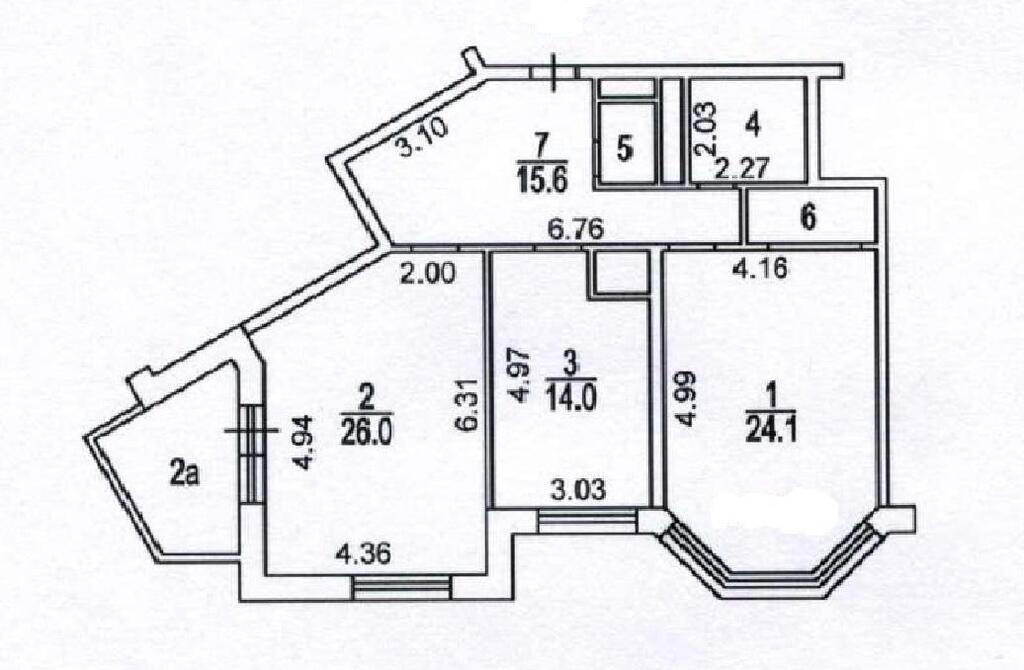 Москва, 3-х комнатная квартира, Ленинградский пр-кт. д.66 к2, 25000000 руб.