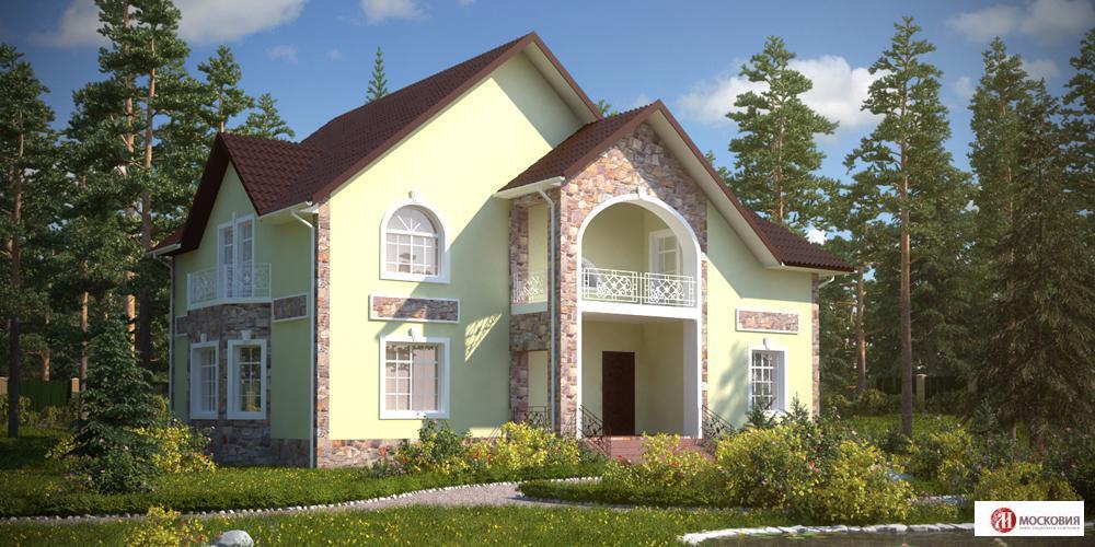 Готовый дом 260 кв.м, уч. 12 с, ПМЖ, Новая Москва, 25 км от МКАД, 21500000 руб.