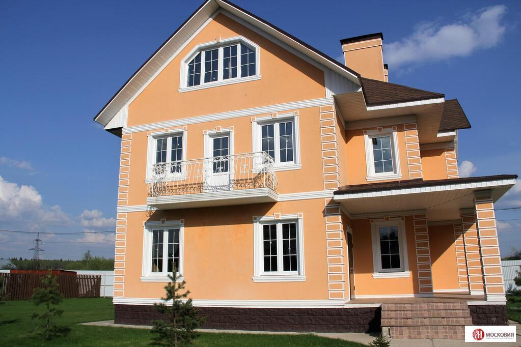 Дом 366 м2 в охраняемом кп в Новой Москве, 27 км по Калужскому шоссе, 20470000 руб.