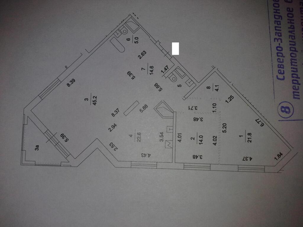 Москва, 3-х комнатная квартира, Маршала Жукова пр-кт. д.78 к5, 32400000 руб.