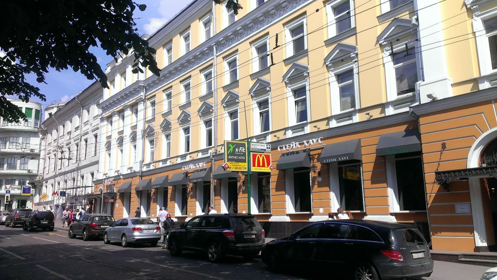 Небольшой офис у м. Китай-город, 70 кв.м., 21000 руб.