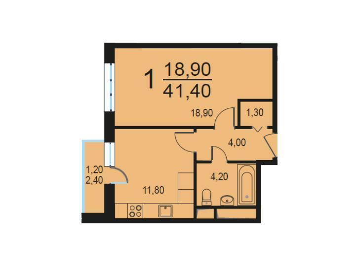 Москва, 1-но комнатная квартира, Внутренний проезд д.8с2, 8459883 руб.