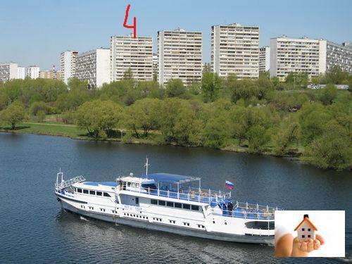 Москва, 1-но комнатная квартира, Капотня 5-й кв-л. д.4, 4500000 руб.
