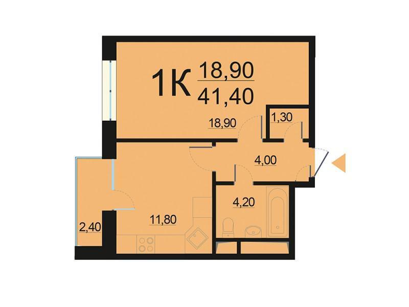 Москва, 1-но комнатная квартира, Внутренний проезд д.8с2, 8488242 руб.