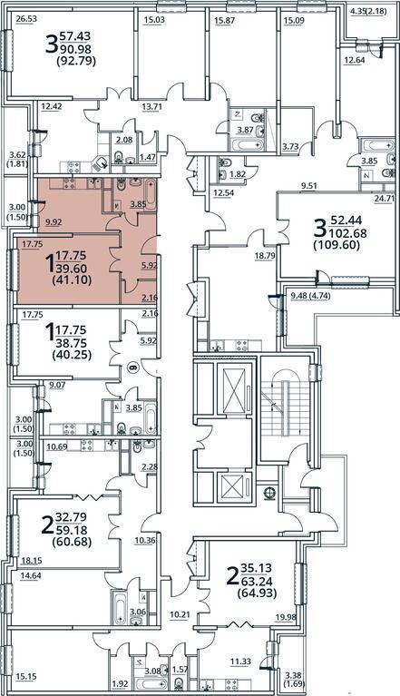 Москва, 1-но комнатная квартира, ул. Радиальная 6-я д.7, 4555935 руб.