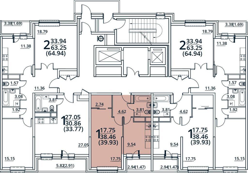 Москва, 1-но комнатная квартира, ул. Радиальная 6-я д.7, 4516083 руб.