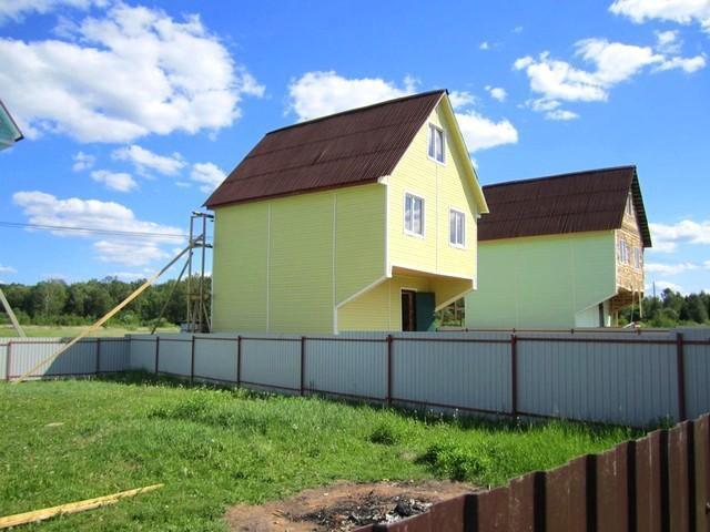 Дом из бруса 100 кв.м. в селе Вороново Новая Москва, 2900000 руб.