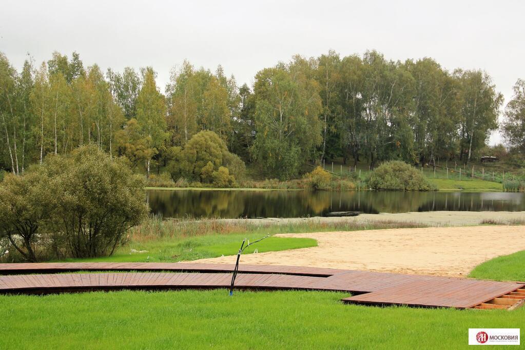 Продается участок 10,3 сотки в поселке с собственным пляжем (Щапово), 2666732 руб.