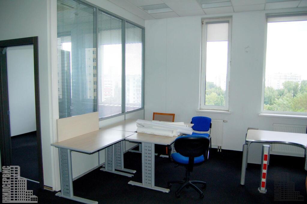 Офис 62,3м с мебелью в охраняемом бизнес-центре у метро Калужская, 23000 руб.