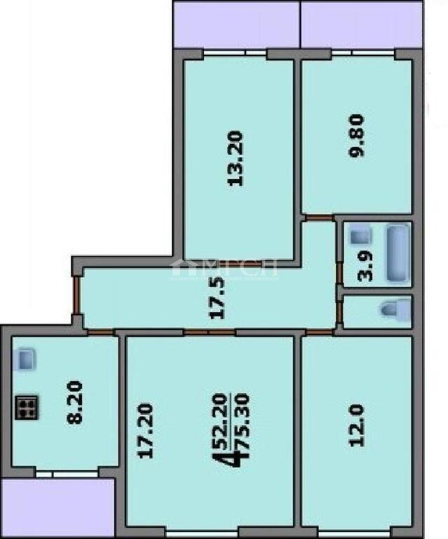 Москва, 4-х комнатная квартира, Ореховый проезд д.29к1, 10600000 руб.
