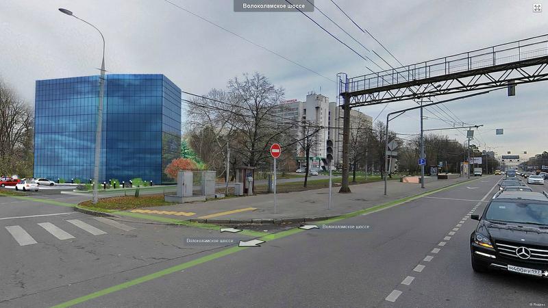Автостоянка на волоколамском шоссе 20 км на карте красногорска