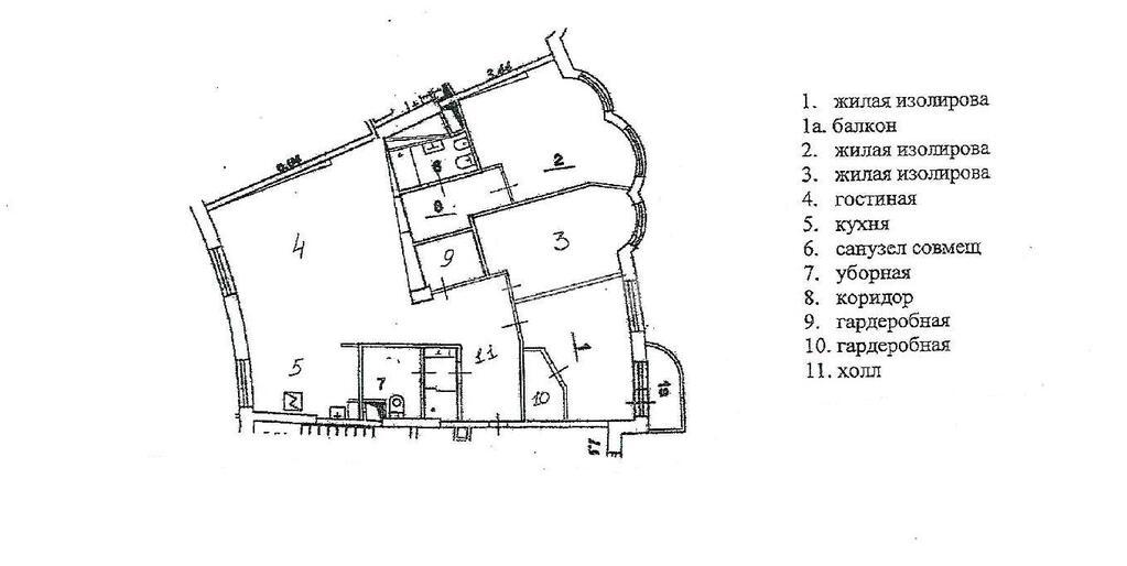 Москва, 4-х комнатная квартира, Петровско-Разумовская аллея д.10К2, 49000000 руб.