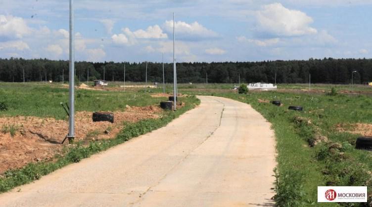 Участок 15.5 сот, земли поселений (ИЖС), Киевское шоссе, 25 км, 7405962 руб.