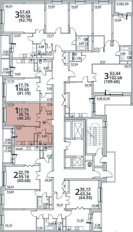 Москва, 1-но комнатная квартира, ул. Радиальная 6-я д.7, 4534162 руб.