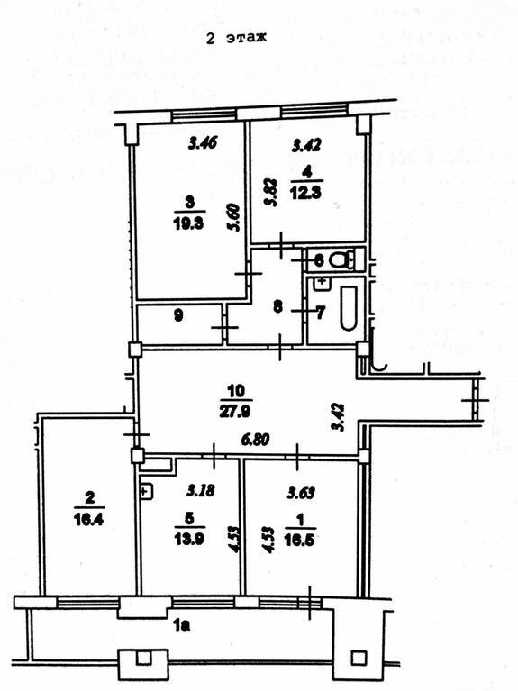 Москва, 4-х комнатная квартира, ул. Академика Волгина д.8 к2, 20900000 руб.