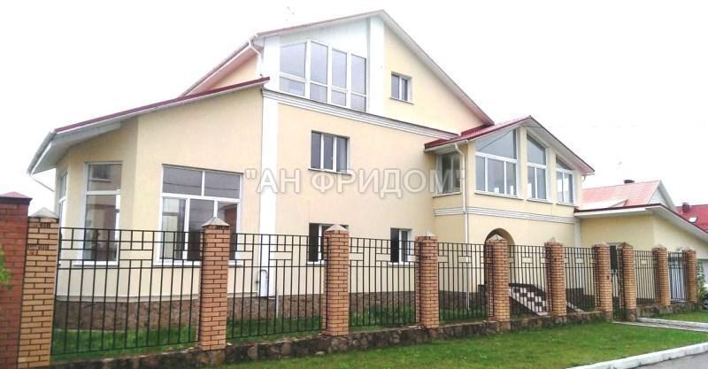 3-этажный дом 500 м2 (кирпич) на участке 20 сот. п. Вороново (Новая ., 22500000 руб.