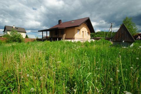 """Дом в стиле """"шале"""" в Лесном Городке"""