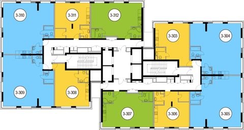 Москва, 2-х комнатная квартира, Головинское ш. д.10, 12104400 руб.
