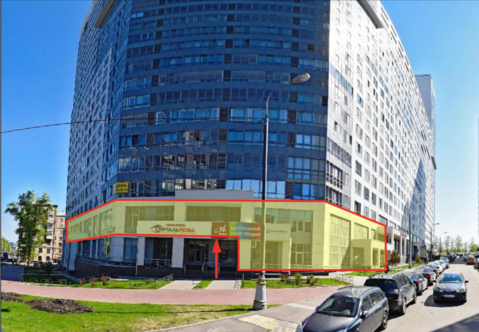 Продажа псн 877 м2 под общепит в ЖК Скай Форт 1-й Нагатинский пр-д 11