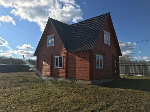 Новый дом из бруса, 120 кв.м, д. Слепушкино Чеховский район