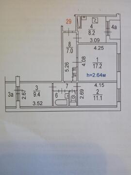 3 комнатная Донецкая 8