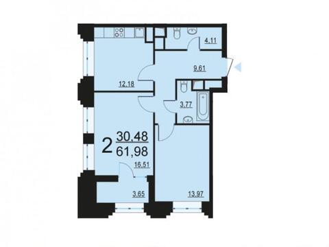 Москва, 2-х комнатная квартира, ул. Берзарина д.28, 12024492 руб.