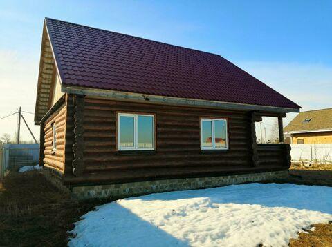 Бревенчатый дом и баня, на уч-ке 12 сот, в деревне Аксаново.