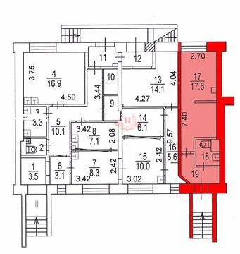 Сдаю помещение 24м2, м. Шаболовская, 1 этаж