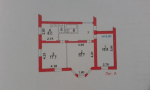 3 комнатная квартира в г. Пересвет