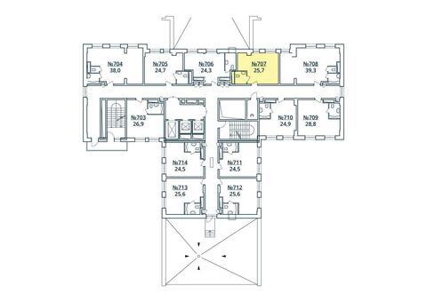 Москва, 1-но комнатная квартира, ул. Радиальная 6-я д.7, к 35, 3021317 руб.