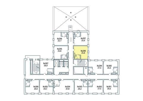 Москва, 1-но комнатная квартира, ул. Радиальная 6-я д.7, к 35, 2886787 руб.