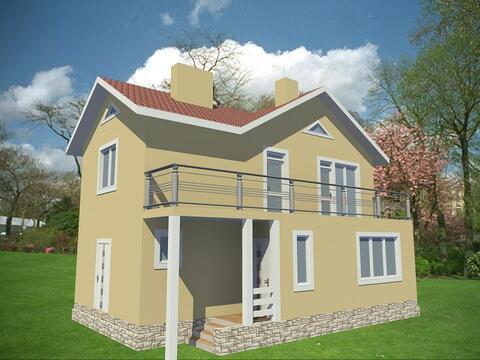 Продается двухэтажный дом общей площадью 134,4 кв