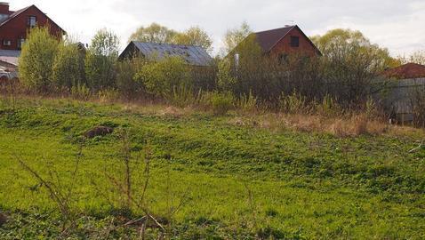 Участок 19-ть соток (ИЖС) с.Озерецкое 22км от МКАД с видом на лес