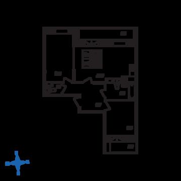 Люберцы, 2-х комнатная квартира, ул. Барыкина д., 5554448 руб.