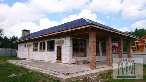 Дом по уникальному проекту в Новой Москве.
