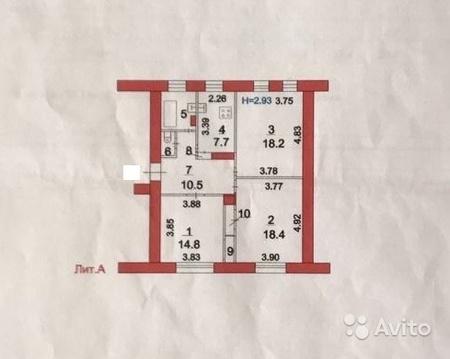 Комната 14,8 кв.м