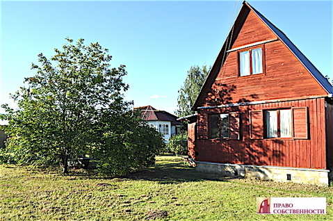 Дачный дом на участке 7,3 сот в СНТ Родник в Раменском районе