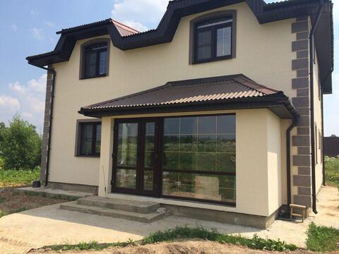 Двухэтажный дом 176 кв.м для постоянного проживания в деревне Назимиха