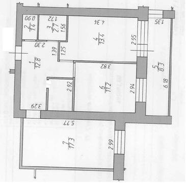 Дубна, 2-х комнатная квартира, Боголюбова пр-кт. д.45, 4800000 руб.
