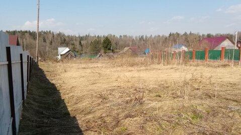 Участок 18 соток в д.Костюнино Щелковского района 33 км от МКАД