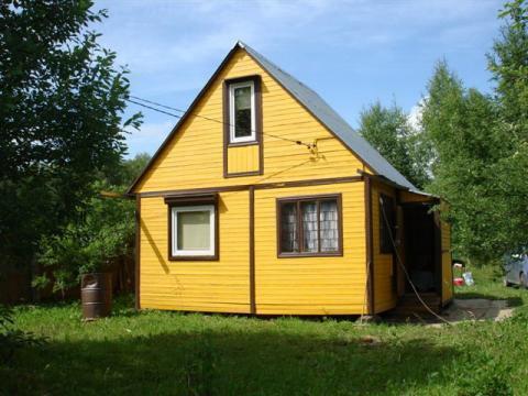 Садовый дом и земельный участок