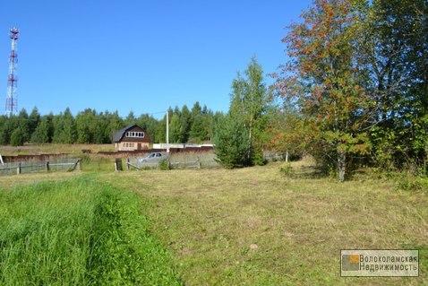 Продается участок 12,5 соток в деревне Малое Сытьково Волоколамского р