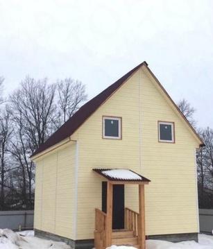 Купить дом из бруса в Наро-Фоминском районе д. Хлопово