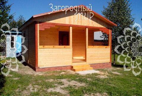 Участок с баней. Симферопольское ш, 44 км от МКАД, Столбищево.