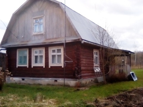 Дом из бревна есть прописка 15 соток