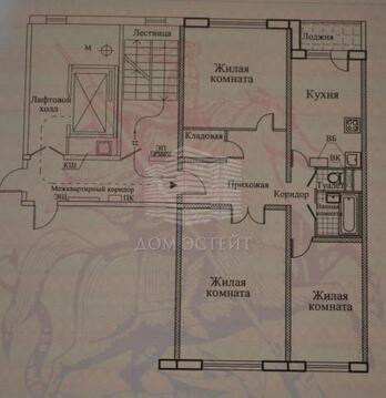 Москва, 3-х комнатная квартира, ул. Брусилова д.9, 8100000 руб.