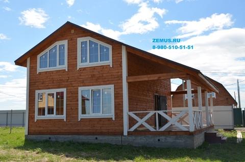 Новый дом из бруса, Можайский район, с.Борисово, 88 км Минское шоссе