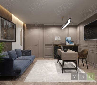 """4-комнатная квартира, 113 кв.м., в ЖК """"Лидер на Пресне"""""""